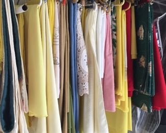 Beautiful linens.