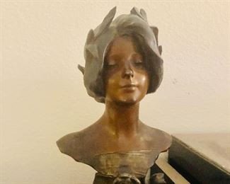 Antique Bust Statue