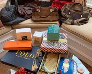 Designer handbags and gift items just in time for the holidays!
