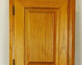 22 x 16 x 5 Wood Medicine Storage Cabinet