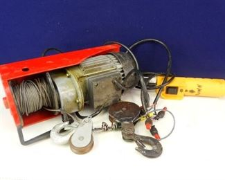 Electric Hoist from Chicago Electric Power Tools