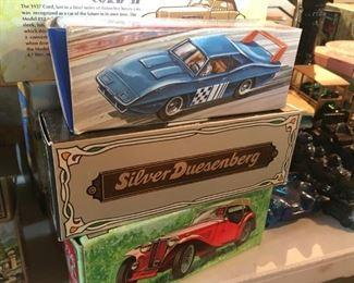 . . . several Avon car items