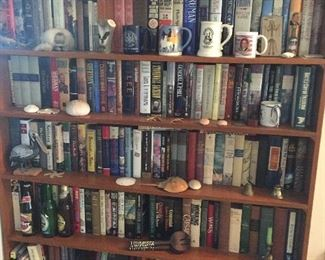 Large selection of historical books on Civil War as well as many others
