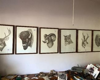 Signed prints from the West