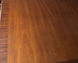 Top of Hickory Chair brand dining room table