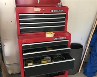 Craftsman Tool Cart on wheels