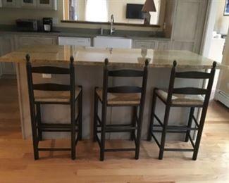 3 bar stools