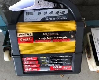 Vector Battery Charger