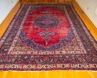 Hand-Woven Oriental Persian Rug made in Pakistan