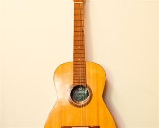 Vintage Giannini Acoustic Classical Guitar Model Made in Brazil
