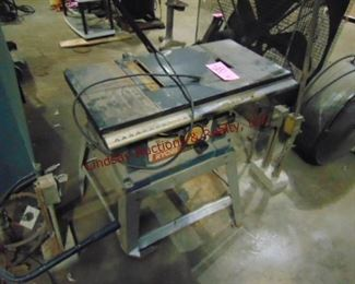 "Ryobi 10"" table saw (WORKS) leg bent,"
