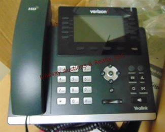4 NIB verizon yealink telephones