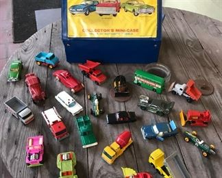 Matchbox vintage cars and trucks