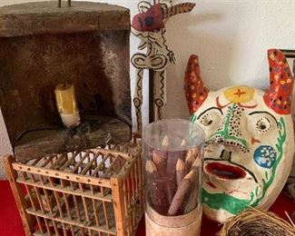 Primitives and Mexican folk art