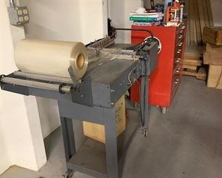 shrink wrap machine sold.