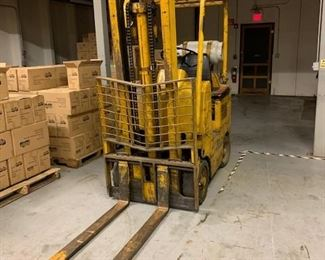 1970 Towmotor forklift.