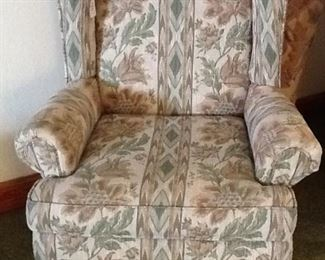 One of Two Upholstered Chairs, Nice and Comfortable!