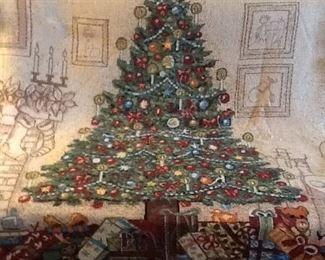 Large Christmas Throw