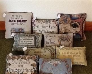 Collection of  Pillows