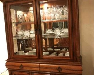 Lighted Hutch that Matches Dinette
