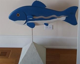Carved Fish by Artist Frank Glapa
