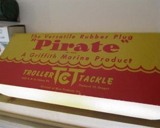 Pirate rubber plug Troller tackle