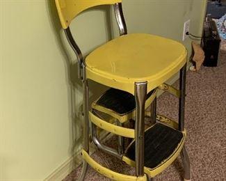 Vintage step ladder kitchen stool