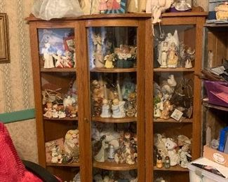Display cabinet, Huge angel collection