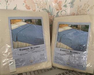 Brand new blankets