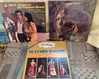 Vintage LP albums
