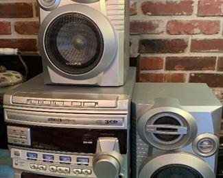 Three CD stereo