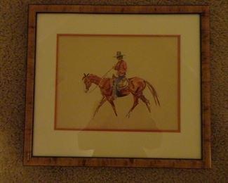 James Louis Lundean watercolor