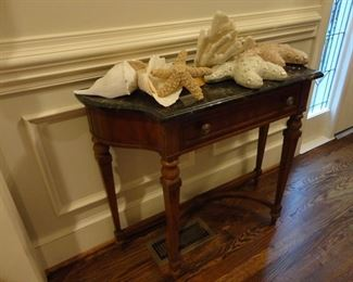 Heritage Entry Table (Marble top is removable)