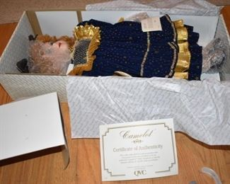 Certificate of Authenticity Camelot Doll