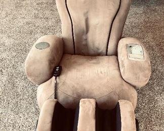 Massage chair with leg massager $90