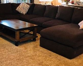 Sectional, $400