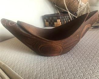 Amos Wallace Raven Bowl Reproduction