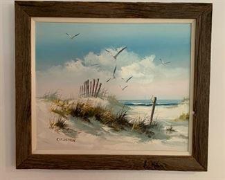 Coastal artwork