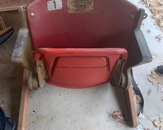 Genuine Box seat from Arlington Stadium Authenticity  guaranteed by Texas Rangers  Baseball Club, Arlington a Texas 76004 $95.
