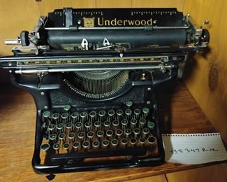 Underwood typerwriter