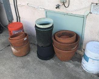 pots.
