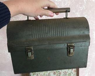 anitque/ vintage lunch box