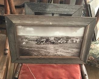 Native American pictures. Frames