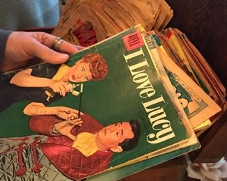 Vintage Comic book collection
