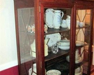 Lots of vintage china, ceramics, glassware, rugs, electronics, books, toys, and more