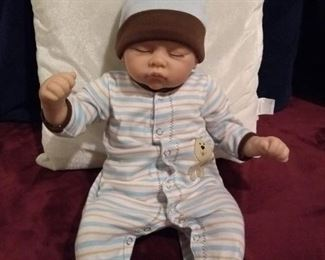 Ashton Drake So truly real Danny sleeping baby boy doll