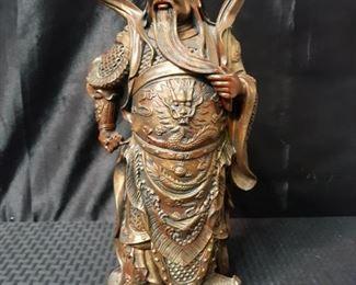 Asian Inspired Warrior Figurine