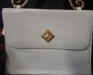 Vintage Edouard Rambaud white purse