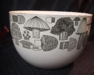 Vintage enamel Finland bowl
