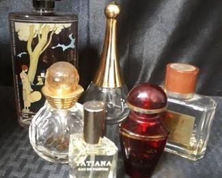 Paris Vintage perfume bottles